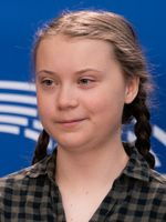 Greta Thunberg im April 2019