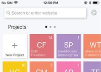 """""""Bento""""-Browser setzt auf Projekte statt auf Tabs."""