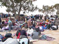 Flüchtlingslager in Tunesien