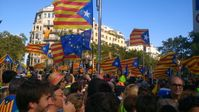 Diada Nacional de Catalunya, Barcelona, September 2017