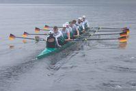 Deutschland-Achter auf dem Ratzeburger See
