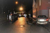 Unfallstelle Bild: Polizei