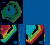 Chemische Zonierung und Gehalt an Uran und Thorium in Pyrochlor aus einem Carbonatit-Syenit-Auswürfling des Laacher-See-Vulkans. Bild: Uni Göttingen