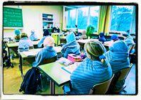 Kinder frieren wieder in 2020 in Schulen - genau wie nach 1945 (Symbolbild)