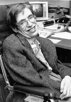 Stephen Hawking bei der NASA (1980er)