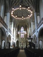 Der Blick ins Schiff der Schlosskirche zu Wittenberg (Symbolbild)