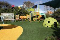 Kinderspielplatz: wird durch Hightech interaktiv. Bild: flickr.com/Sam Howzit