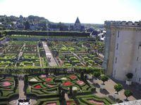 Park im Schloss Villandry, Frankreich, Renaissancegarten (Symbolbild)