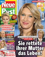 "Neue Post Cover. Bild: ""obs/Bauer Media Group, Neue Post/Neue Post"""