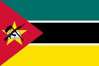 Flagge von Mosambik