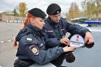 Polizei in Russland (Symbolbild)