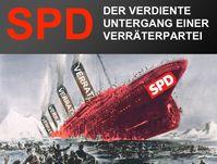 SPD in der Dauerkritik: Zuviele male viel die Partei jenen in den Rücken, die sie vorgab zu Unterstützen. Naht das endgültige Ende? (Symbolbild)