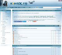 Bild: Screenshot der Webseite Kinox.to
