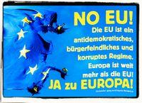 Viele Menschen halten die EU mittlerweile für eine zweite EUDSSR und eine Gefahr für sich selbst (Symbolbild)