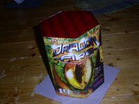 Eingepackte Feuerwerksbatterie