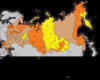 Russische Föderation mit Integrationsbemühungen (2014)
