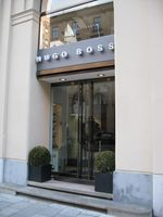 Hugo Boss-Boutique in München, 2012