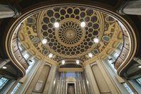 Das Kulturforum Görlitzer Synagoge mit prachtvollem Kuppelsaal. Bild: Europastadt GörlitzZgorzelec Gmb Fotograf: Europastadt GörlitzZgorzelec Gmb
