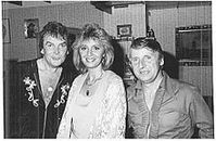 Cindy & Bert mit Schwarz Ferdl in Ingolstadt 1990