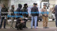 Unbegleitete Minderjährige kosten im Schnitt 8.469 Euro pro Monat (Stand 2019). Zum Vergleich: Arbeitslose erhalten 424 Euro zzlg. ca. 400€ Miete pro Monat(Symbolbild)