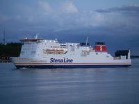 Stena Jutlandica im Hafen von Göteborg