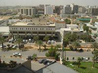 Blick auf Riad