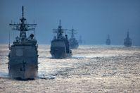 EU-Flotte im Einsatz: Mit Waffengewalt den Frieden bringen? (Symbolbild)