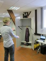 KISS, Kinect Schrank System Quelle: Foto: Linda Rozendaal (idw)