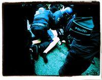 Demonstration in Berlin 23.05.2021: Polizei verhaftet friedliche Demonstraten.