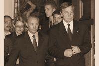 Wladimir Putin und Wolfgang Clement (Archivbild)