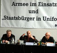 Jürgen Rose, Paul Schäfer und Ralf Siemens (v.l.n.r.), 2011