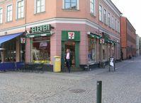 Convenience Store (7-Eleven) in Lund, Schweden
