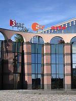 Sendezentrum 2 des ZDF, Mainz-Lerchenberg. Bild: Christian Koehn / de.wikipedia.org