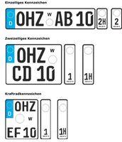 Wechselkennzeichen in Deutschland