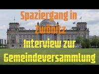 """Bild: SS Video: """"Spaziergang in Zwönitz - Interview zur Gemeindeversammlung"""" (https://youtu.be/VdgnC6K2H3Q) / Eigenes Werk"""