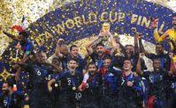Die französische Nationalmannschaft.