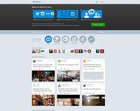 Screenshot der Webseite von storify.com