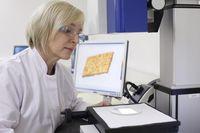3D-Oberflächenanalyse: Die Anzahl der Kontaktpunkte zwischen dem Textil und der Haut gibt an, wie sc Quelle: © Hohenstein Institute (idw)