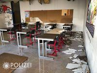 Klassenzimmer Bild: Polizei