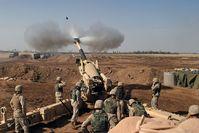 Schwere Artillerie (Symbolbild)