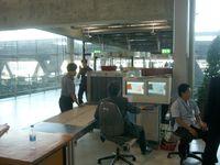 Baggage screening monitoring at Bangkok Suvarnabhumi Airport.