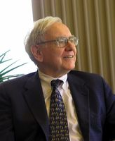 Warren Buffett Bild: Mark Hirschey / de.wikipedia.org