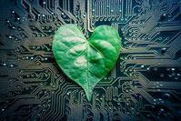 Mix aus Elektronik und Natur treibt Roboter effizient an. Bild: web.mit.edu