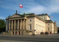 Staatsoper Berlin, Fassade Unter den Linden, 2009