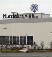 VW-Nutzfahrzeuge im Volkswagenwerk Hannover