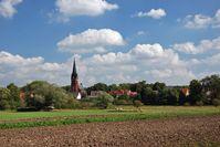 Ein Dorf auf dem Land (Symbolbild)
