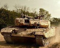 Deutscher Panzer: Saudi-Arabien macht Druck. Bild: kmweg.de