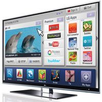 LG Smart TV. Bild: lg.com