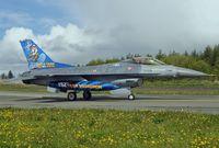 Türkische Luftstreitkräfte: Eine F-16 der 192. Staffel Tiger Squadron in Balikesir