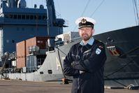 Portrait von Fregattenkapitän Eidam Bild: Bundeswehr